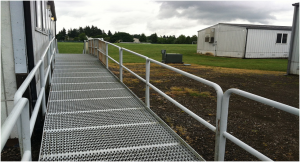 materials handling safety barriers
